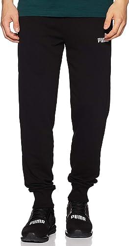 Puma Ess Logo Pants TR Cl Pantalon de Jogging Homme, Dark Gray Heather, S