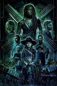 GZCJHP The Walking Dead Poster Season 10~1 Zombie TV Series Art Silk Poster Canvas Print 13x20 24x36 inch for Room Decor Decoration-004 (20x30cm Canvas)