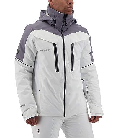 Obermeyer Charger Jacket (White) Men