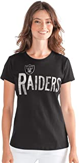 Oakland Raiders G-III 4Her Women's in The Stands T-Shirt