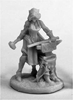 Reaper Miniatures Elven Blacksmith #77459 Bones Plastic D&D RPG Mini Figure