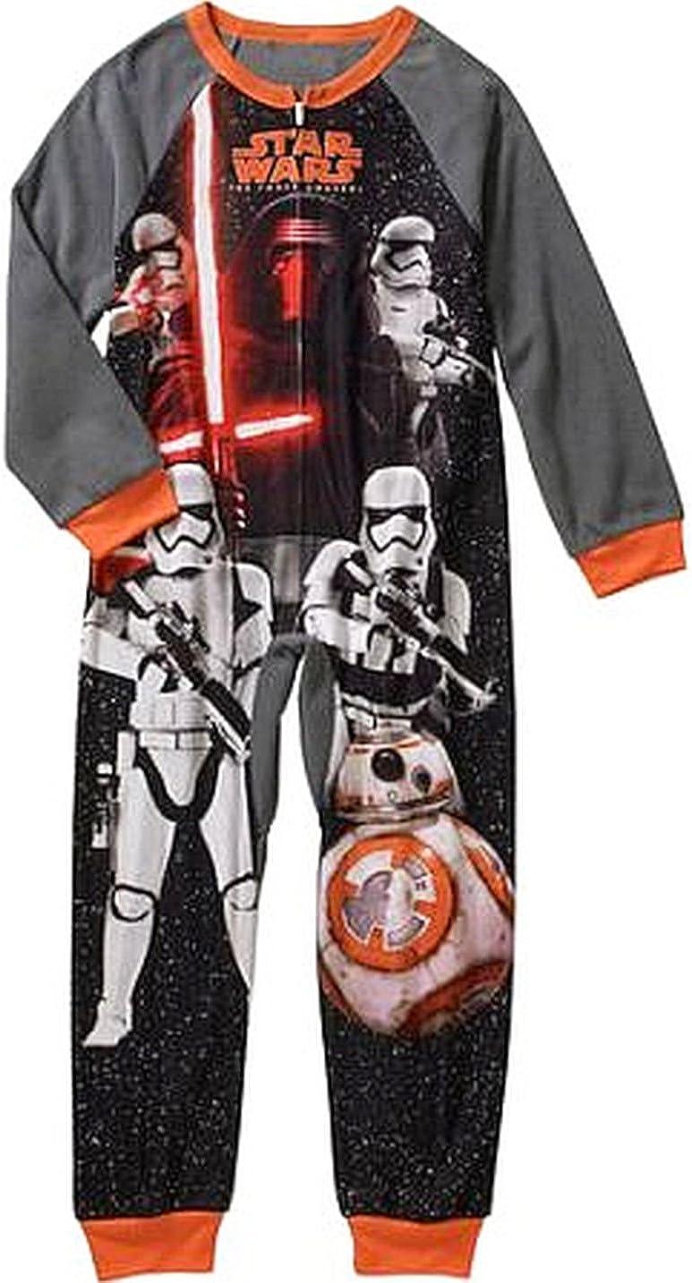 STAR Sales of SALE items from new works WARS KYLO REN Boy's Blanket Pajama Sleeper Fleece Cheap sale