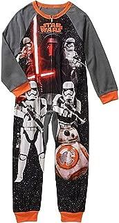 STAR WARS KYLO REN Boy's Fleece Blanket Pajama Sleeper
