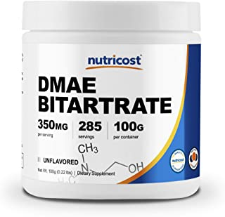 Nutricost Pure DMAE-Bitartrate Powder 100 Grams
