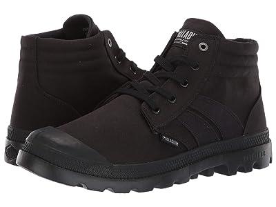 Palladium Monochrome Lite Flame (Black) Shoes
