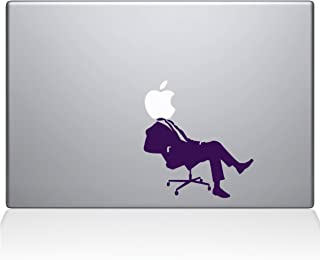 "The Decal Guru 1035-MAC-13A-W Apple CEO MacBook Decal Vinyl Sticker - 13"" Macbook Pro (2016 & newer) - Lavender"