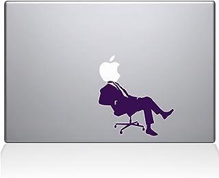 """The Decal Guru 1064-MAC-11A-BLA Apple CEO MacBook Decal Vinyl Sticker - 15"""" MacBook Pro (2016 & Newer) - Lavender"""