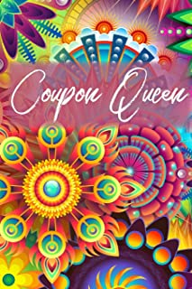 Coupon Queen Journal: Coupon Book Shopper Gift, 6x9 lined blank notebook, 150 pages, notebook to write in for journaling, note, or inspirational quotes, paperback composition book