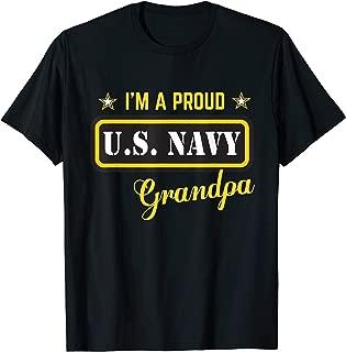 I'm A Proud Navy Grandpa T-shirt