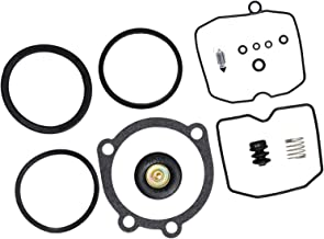 I-Joy 20709 Carburetor Rebuild Kit fits Harley Davidson Sportster XL 883 1200 Keihin CV Type Carb Replacement Repair Kit 1990-Up 100% New 1-Month Warranty