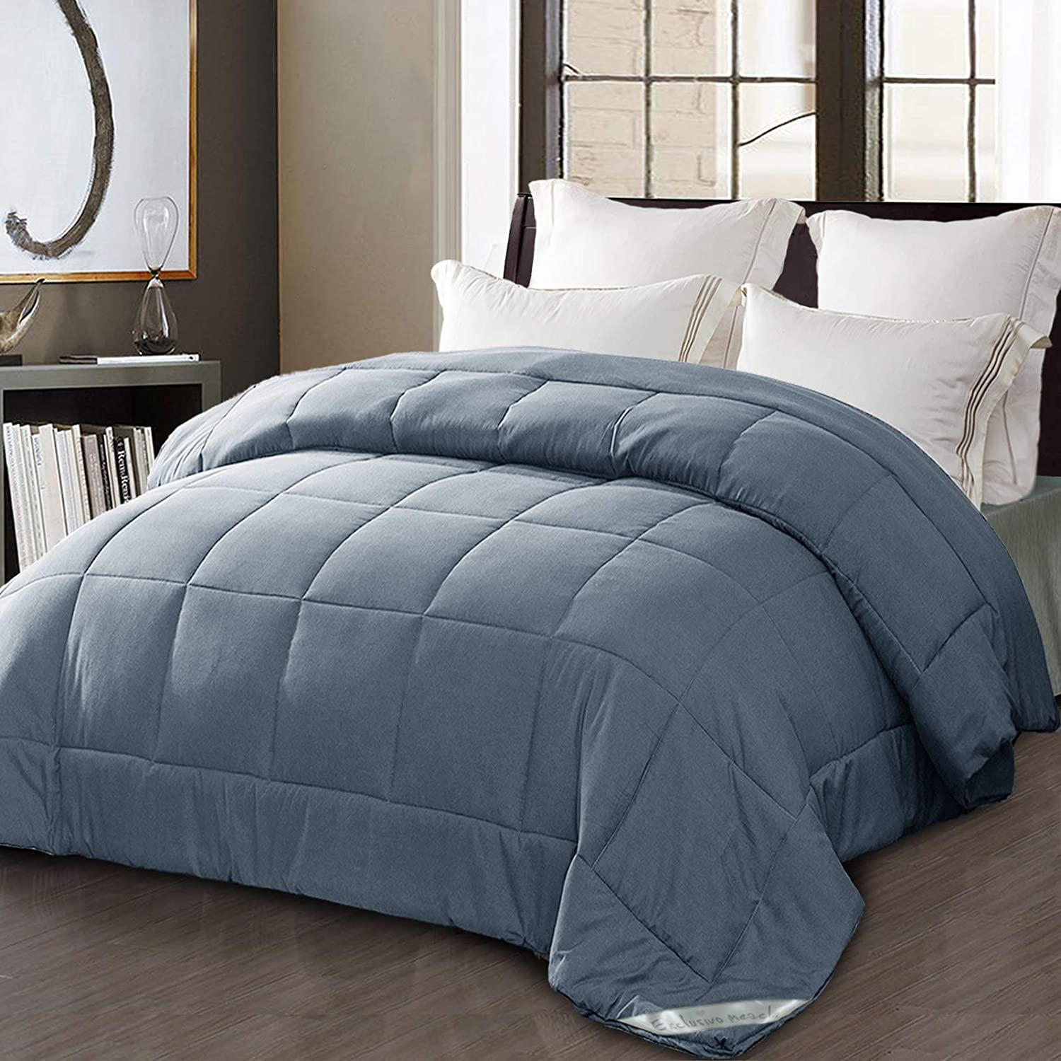 Exclusivo San Francisco Mall Mezcla Twin Size price Down Quilted Alternative Comforter Du