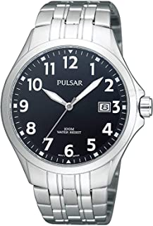 PULSAR Men's Analogue Quartz Watch with Stainless Steel Strap 8431242967875