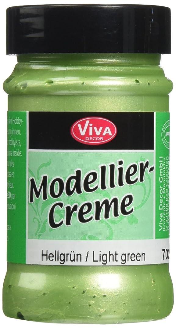 Viva Decor Modeling Creme, 90gm, Light Green