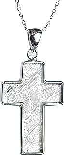 Best meteorite cross necklace Reviews