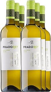 PRADOREY Sauvignong Blanc - Vino blanco - Sauvignon Blanc - Vino de la tierra de Catilla y León - Vendimia Nocturna - Elaboración con sistema boreal - 6 Botella - 0,75 L