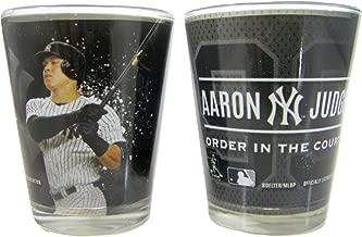 New York Yankees Aaron Judge 2 oz. Shot Glass