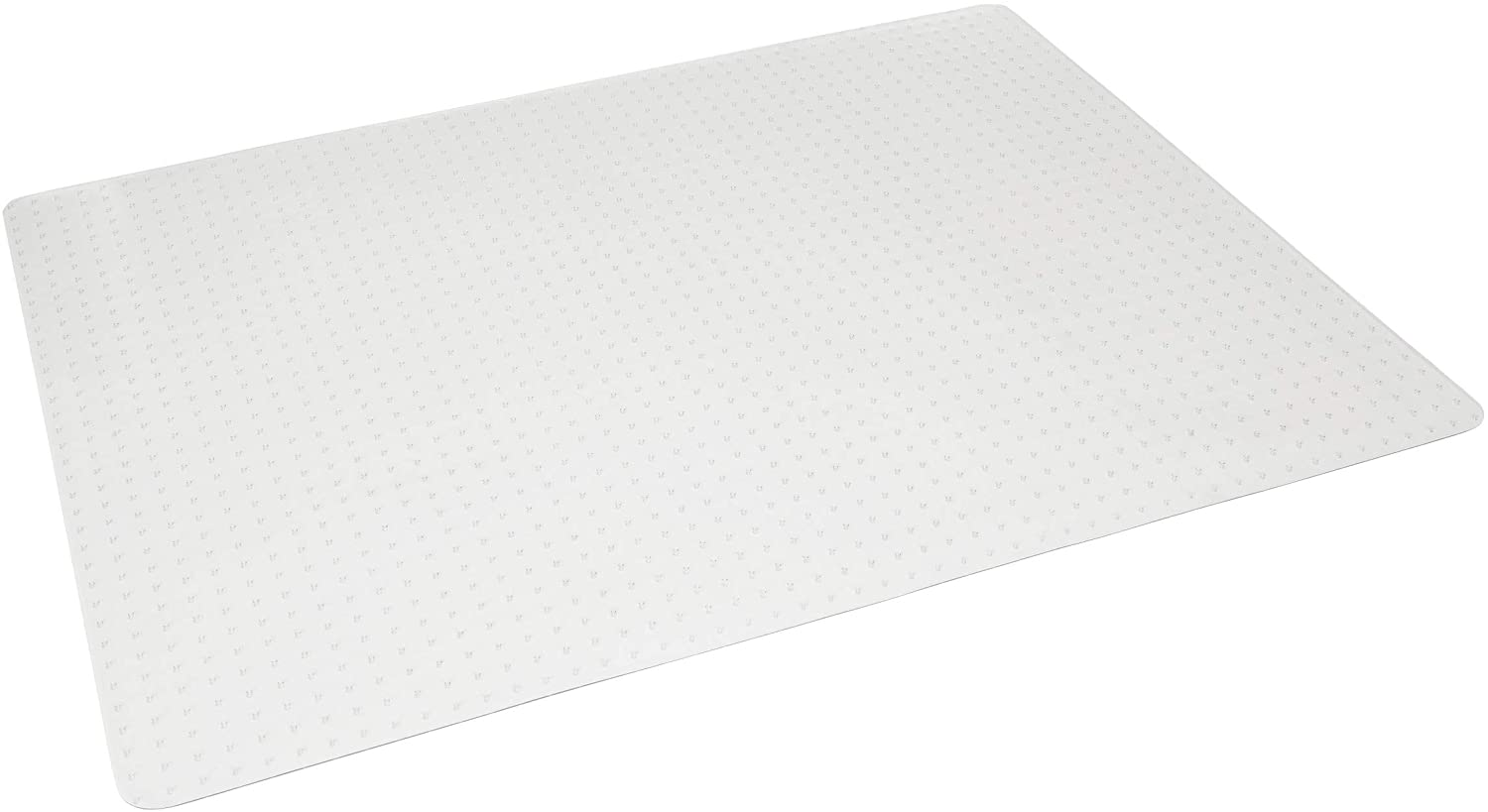 """OFM ESS Collection Chair Mat for Low Pile Carpet, 46"""" X 60"""", Clear : Office Products"""
