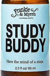 Study Buddy | Energizing Peppermint Spray for Focus, Headaches, Nausea | Peppermint, Lemon and Rosemary Essential Oil Mist
