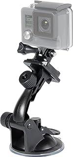 Speedlink Car Mount für GoPro   Zubehör für Action Cams   Saugnapf Autohalterung   zwei Gelenke   extrem fester Halt   schwarz