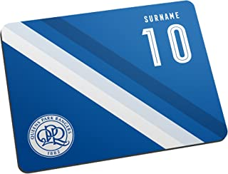 Official Personalised Queens Park Rangers FC Stripe Mouse Mat