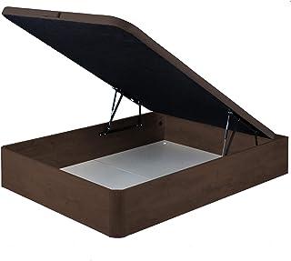marckonfort Canapé abatible 135X190 de Gran Capacidad con Esquinas Redondeadas en Madera, Base tapizada 3D Transpirable Co...