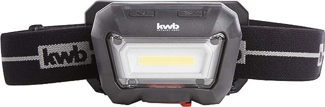 kwb Accu koplamp met bewegingssensor (aan/uit) COB LED-technologie, 1500 mAh Li-Ion batterij, ANSI FL 1 - standaard, lamp ...