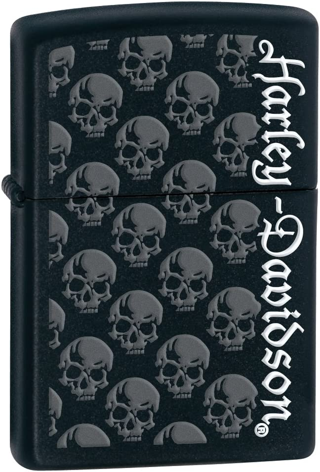 Ranking integrated 1st place Zippo Harley-Davidson Lighters New popularity Skull