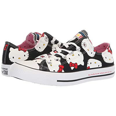 Converse Chuck Taylor All Star Ox Hello Kitty (Black/White) Classic Shoes