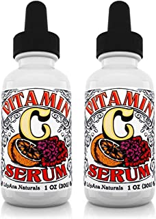Vitamin C Serum for Face - Face Serum with Hyaluronic Acid and Vitamin E, Anti Aging Serum, Reduces Age Spots and Sun Dama...