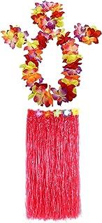 1 Set 80cm Adult Party Hawaii Dress Hula Grass Skirt