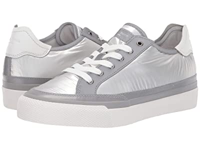 rag & bone RB Army Low Top Sneaker (Silver Nylon) Women