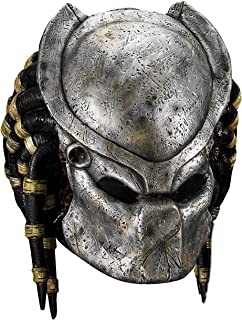 Deluxe Predator Mask with Detachable Faceplate Costume Accessory