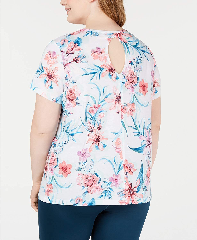 Ideology Womens Space Dye Dolman Sleeve Fitness T-Shirt BHFO 7404