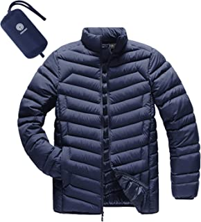 LAPASA Men's Lightweight Packable Down Jacket Breathable Puffy Coat Water-Resistant M32