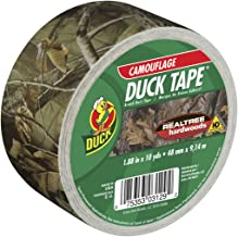 Duck Brand 1409574 Printed Duct Tape, Single Roll, Realtree Camouflage