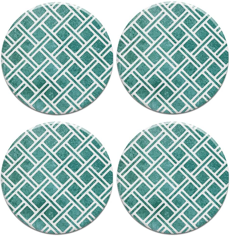 4PC Louisville-Jefferson County Mall Set Round Ceramic Stone Coasters Mug Coffee Mail order cheap Cup for