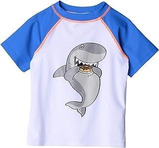 Baby Boy's Rashguard - Shark Bite (Infant/Toddler/Little Kids/Big Kids)