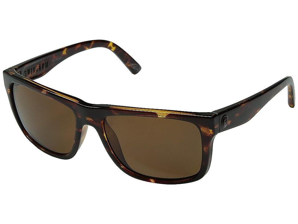 Electric Eyewear Swingarm Polarized (Tortoise Shell/OHM Bronze Polar) Sport Sunglasses