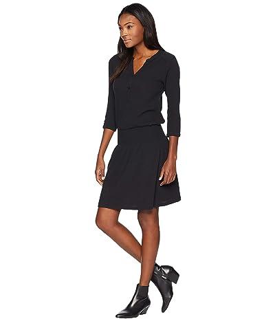 Prana Sugar Pine Dress (Solid Black) Women
