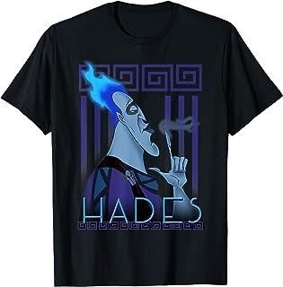 Disney Hercules Hades Geometric Portrait T-Shirt