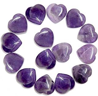 Amethyst Amethyst Heart Amethyst Beads Amethyst Smooth Heart 7X7 11X11MM 105 Carats Smooth Amethyst Heart Natural Smooth Amethyst