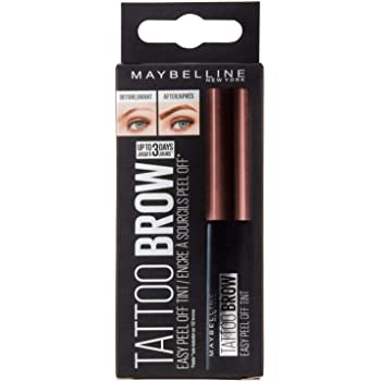 Maybelline Tinta Semi Permanente para Cejas Tattoo Brow 3 Day, Dark Brown, 4.6 g