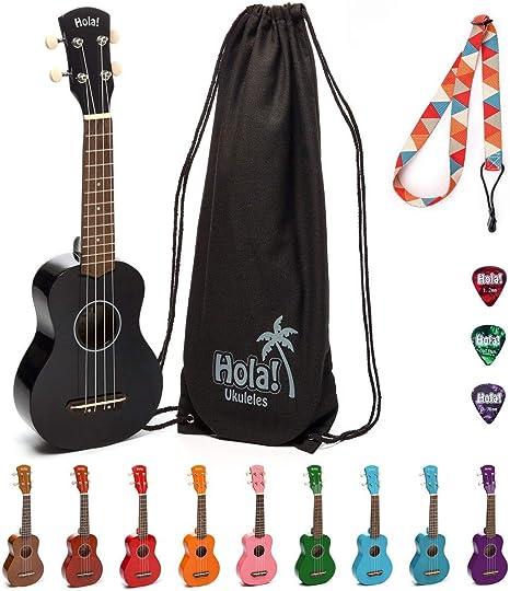 Hola! Music HM-21BK Soprano Ukulele