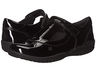 Geox Kids Jr Shadow 50 (Little Kid) (Black Oxford) Girls Shoes