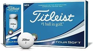Titleist(タイトリスト)日本正規品 TOUR SOFT(ツアーソフト) ゴルフボール 1ダース(12個入)