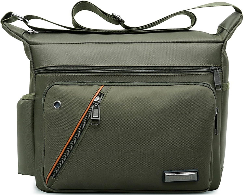 Degohome Everywhere Lightweight Crossbody Bags MultiPocketed Nylon Waterproof Shoulder Bag