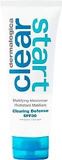 Dermalogica Clearing Defense SPF30, 2 Fl Oz - Lightweight Sunscreen Moisturizer for Acne Prone Skin with Vitamin C