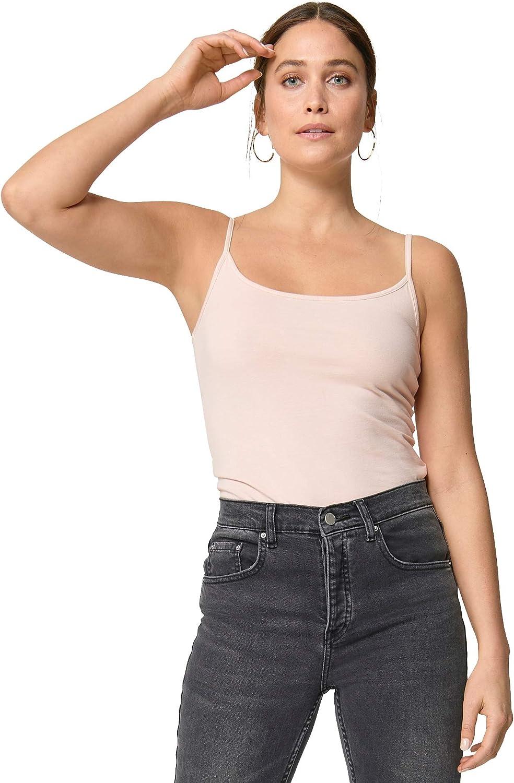 ellos Women's Plus Size Knit Camisole Tank Top