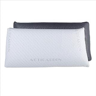 comprar comparacion Dreaming Kamahaus Pack 2 Almohadas viscoelástica Carbono Activo 70cm   Núcleo indeformable   Hilo de Plata   Microperforad...