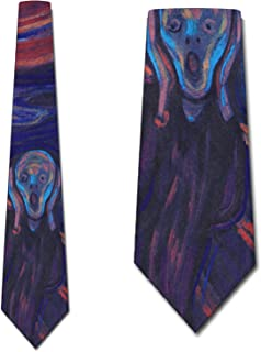 The Scream Ties Edvard Munch NeckTies by Three Rooker